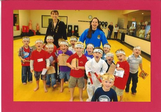 Ninja Birthday Party at Acadiana